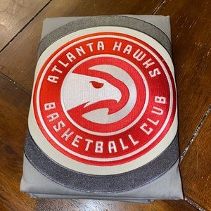 Pottery Barn NBA ATL Hawks Patch Standard Sham NWT